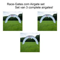 Race-Gates.Com Airgate set: 3 airgates!